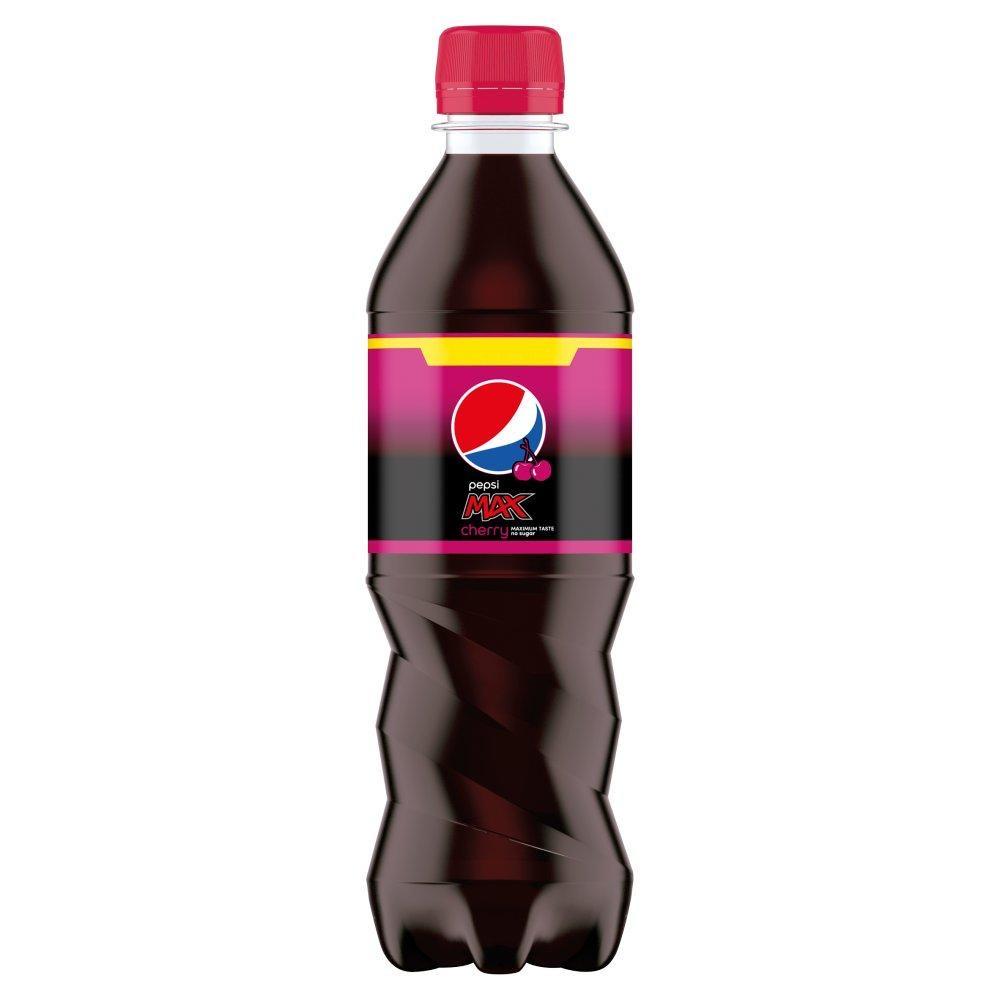 Pepsi Max Cherry 375ml bottle (4 for £1) @ Heron Foods Nottingham