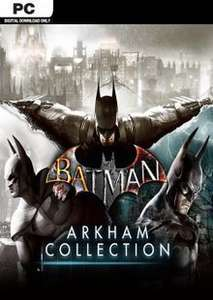 [Steam] Batman: Arkham Collection (PC) - £5.49 @ CDKeys