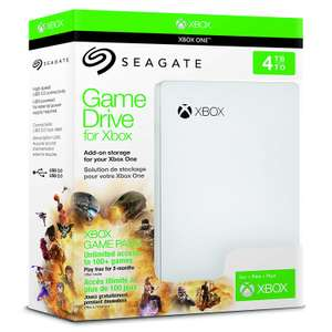 Seagate 4TB Gaming Portable Hard Drive: Xbox Game Pass Special Edition USB 3.0 - £80.99 @ Currys PC World