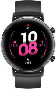 HUAWEI Watch GT 2 (42 mm) Smart Watch, 1.2 Inch AMOLED Display with 3D Glass Screen, no external apps /1 week battery life £126.99 @ Amazon