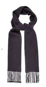 Navy Plain Scarf £4 Burton - click & collect from store