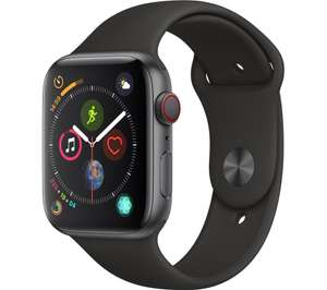 APPLE Watch Series 4 Cellular - Space Grey & Black Sports Band, 44 mm £319 @ Currys PC World