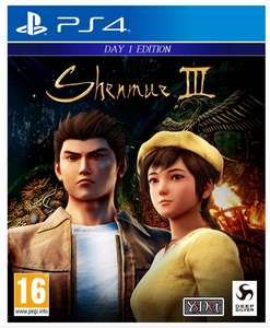 Shenmue III [PS4] Day One Edition** - £22.99 @ Argos (Free Click & Collect)
