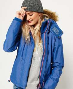 Superdry Hooded Faux Fur Sherpa SD-Windattacker Jacket - Size S & L only - £21.59 @ Superdry store eBay