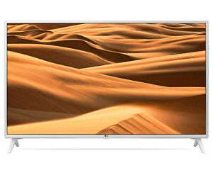 """LG 49UM7390PLC 49"""" ULTRA HD 4K TV White - £295.20 with code @ Cramptonandmoore eBay"""