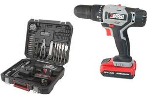 XCEED EX218DIG (by Positec WORX) cordless combi hammer drill with case and comprehensive toolkit £39.99 Positec WORX eBay