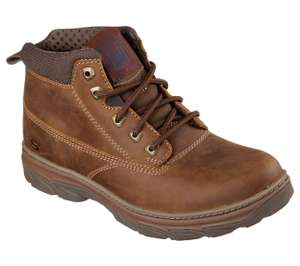 Skechers Resment - Alento Memory Foam Boots £28.79 - Size 6.5 up to Size 9.5 at Limaluk-Skechers / eBay