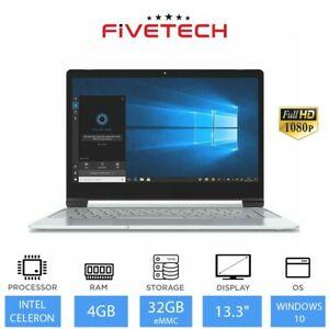 """Refurb Dual Core 13.3"""" Pristine N4000, 4GB memory 32GB emmc (takes an SSD) £87.99 @ ebay laptopoutlet"""