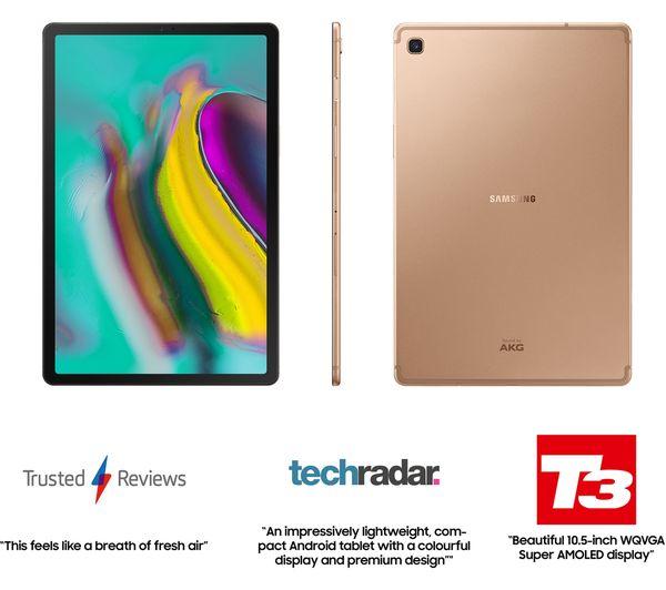 Samsung Galaxy Tab S5e Wi Fi - 128GB version Gold £349 (£299 after samsung cashback) Amazon