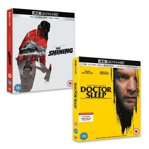 Doctor Sleep And The Shining Bundle (4K Ultra + Blu-Ray) for £34.99 (£31.49 new users with code) @ Warner Bros Shop