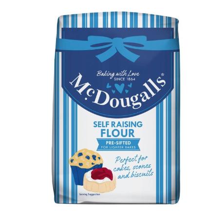 McDougalls Self Raising Flour/ Plain 1.1kg £1 at Morrison's Use CheckoutSmart to get 50p Cashback