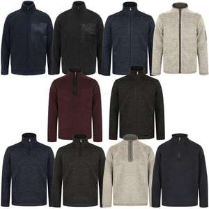 Selection of 10 Borg or Sherpa Lined Fleeces at just £14.99 each (+ £1.99 Delivery) @ Tokyo Laundry - Now Includes Jackets, Hoodies & more