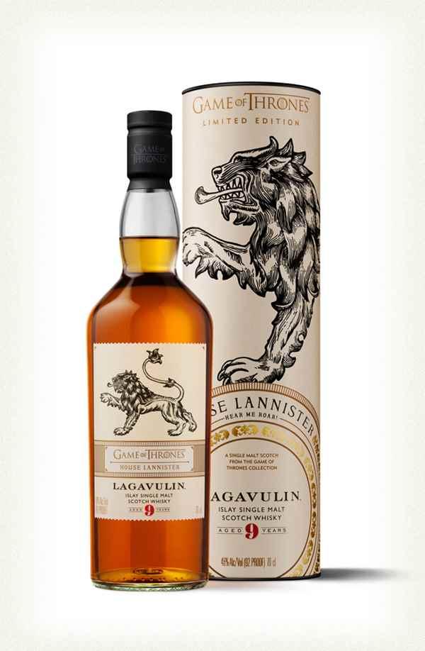 Lagavulin 9 Year Old Single Malt Whisky 70cl - House Lannister GoT £35.99 @ Amazon