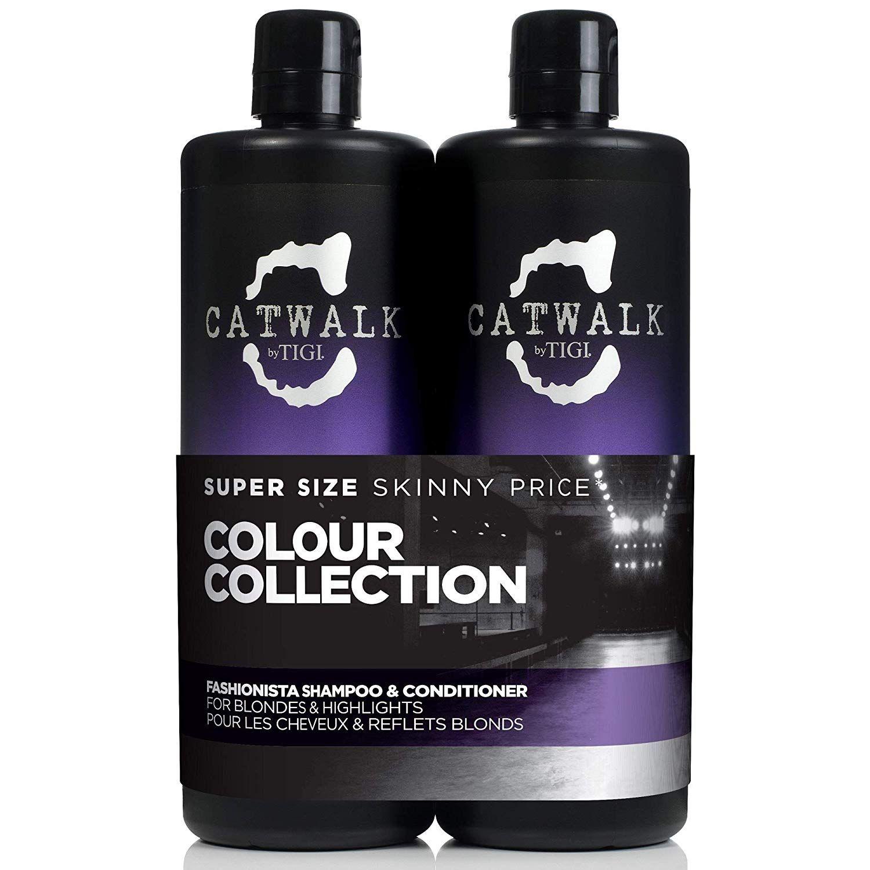 Tigi Catwalk Fashionista Blonde Shampoo - £9.38 (Prime) £13.87 (Non Prime) @ Amazon