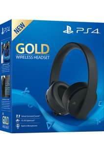 Ps4 Gold Wireless Headset Playstation 4 - £49.85 Simply Games