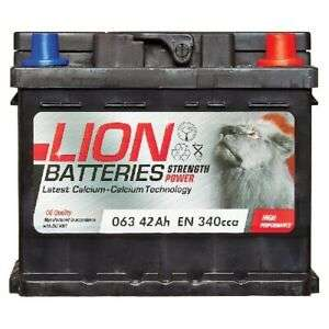 MF53646 063 Lion Car Battery with 3 Years Warranty 42Ah 340cca 12V Electrical - £26.30 delivered with code @ carpartsbargains eBay