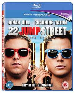 22 Jump Street [Blu-ray] [2014] [Region Free] +digital copy £1.29 @ Amazon Prime / £4.28 Non Prime