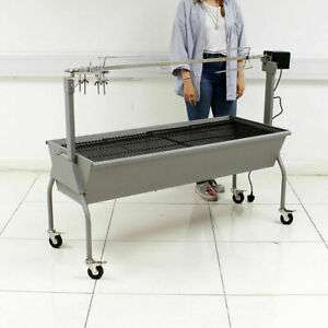 Large Spit Roast (Charcoal and Electric Spit) 20% Off With Ebay Voucher Sold By Wido £184.01 Delivered