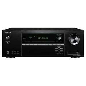 Onkyo TXSR393 775w 5.1ch A/V Receiver Bluetooth Dolby Atmos £191.20 at hughesdirect eBay