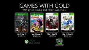 Xbox Games with Gold (March 2020) - Batman: The Enemy Within, Shantae: Half-Genie Hero, Castlevania: Lords of Shadow 2 & Sonic Generations