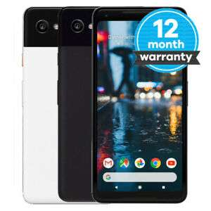 Google Pixel 2 XL Refurbished Good/very Good/pristine Black White 64GB (Unlocked) starting at £115.19 with code from Music Magpie/ebay