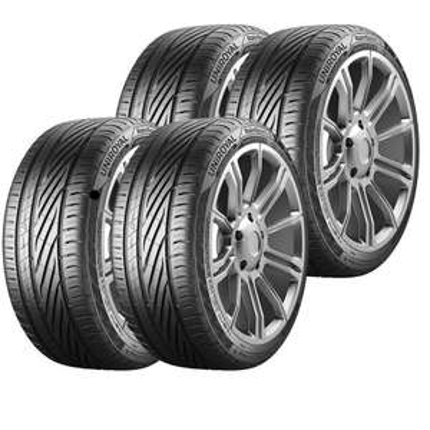 4x Uniroyal RainSport 5 Tyres 205/55 16 - £141.68 or 195/50 15 - £130.86 (using code) @ Demon Tweeks / eBay (More in OP)