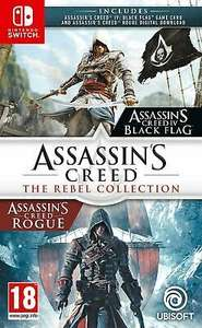 [Nintendo Switch] Assassin's Creed: The Rebel Collection - £24.99 delivered @ Boss Deals / ebay