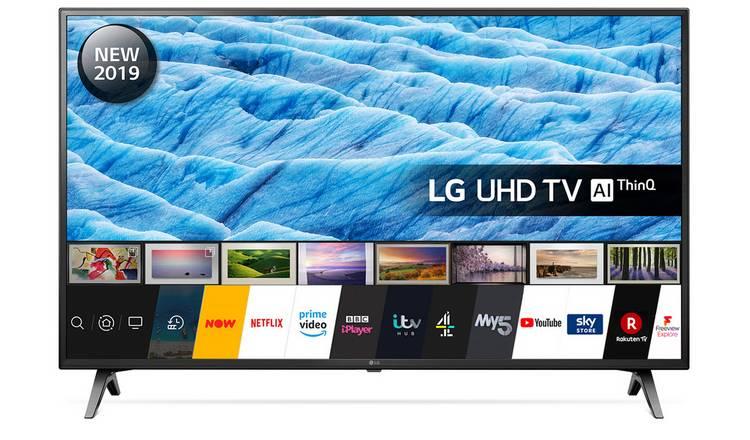 LG 60 Inch 60UM7100PLB Smart 4K HDR LED TV £429 @ Argos