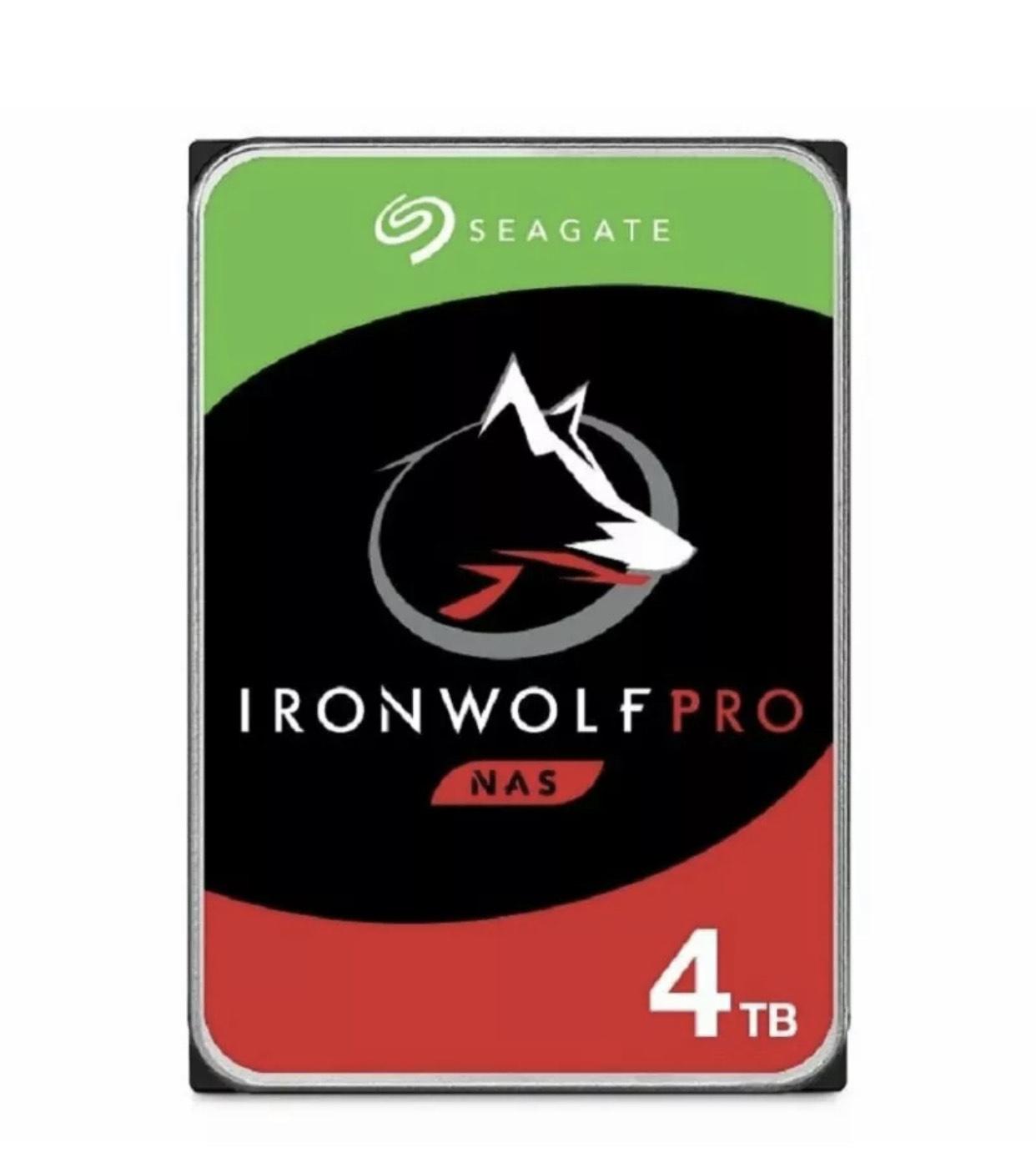 Seagate IronWolf 4TB NAS Hard Drive - £88.18 / Pro £125.54 @ eBay / eBuyer with code