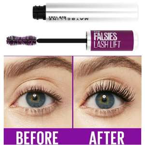 Maybelline The Falsies Instant Lash Lift Look Lengthening Volumising Mascara (was £9.00) Now £7.00 + 3 for 2 = Three for £14 @ Boots