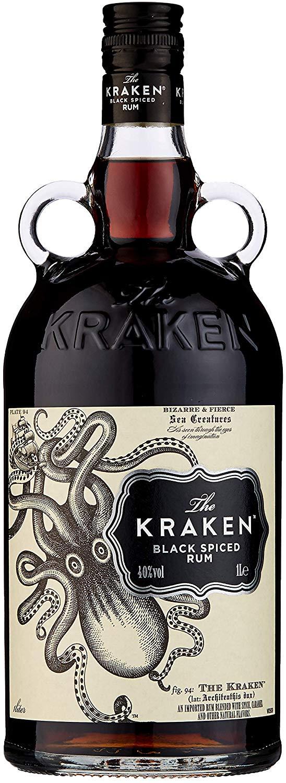 Kraken Black Spiced Rum, 1 L £27.99 at Amazon