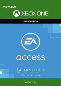 EA Access 12 Month Subscription Xbox One - £16.85 Digital Delivery from ShopTo