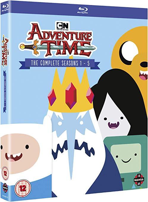 Adventure Time - Complete Seasons 1-5 Collection [Blu-ray] £27.39 @ amazon.co.uk