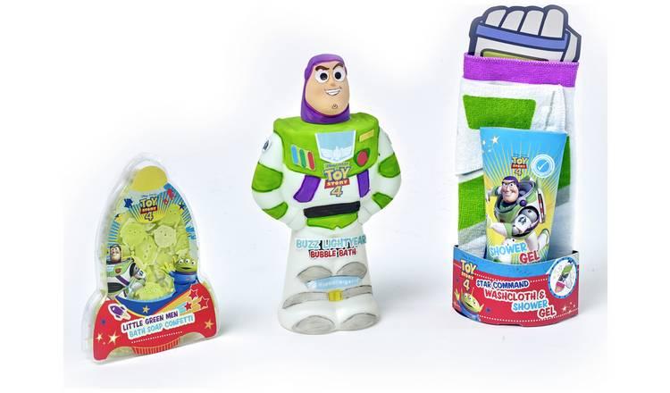Disney Buzz Lightyear Bath Time Bundle now £4.49 / Disney Toy Story Bath Time Bundle £4.49 @ Argos (Free Click & Collect)