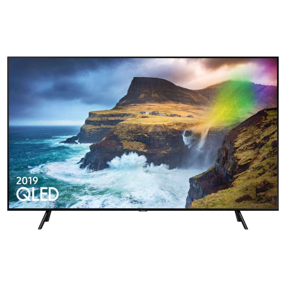 """Samsung QE75Q70RATXXU 75"""" 4K Ultra HD QLED Smart TV 5 Year Warranty £1499 @ Hughes"""