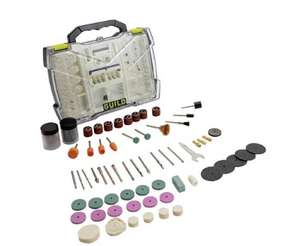 Guild 145 Piece Rotary Tool Accessory Set now £10 with Manufacturer's 2 year guarantee @ Argos (Free Click & Collect)