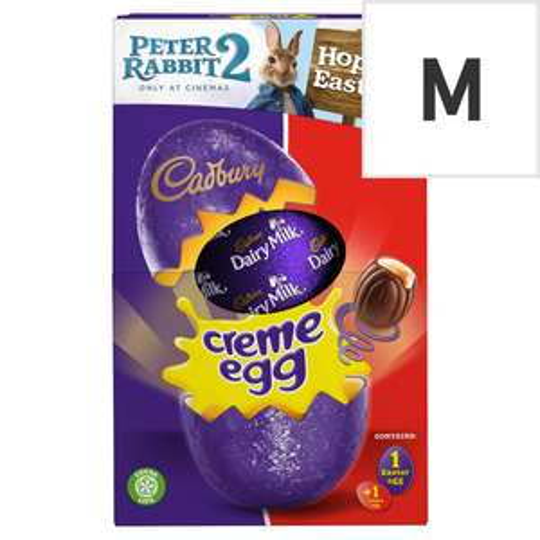 Cadbury's medium Easter egg £1 One Stop