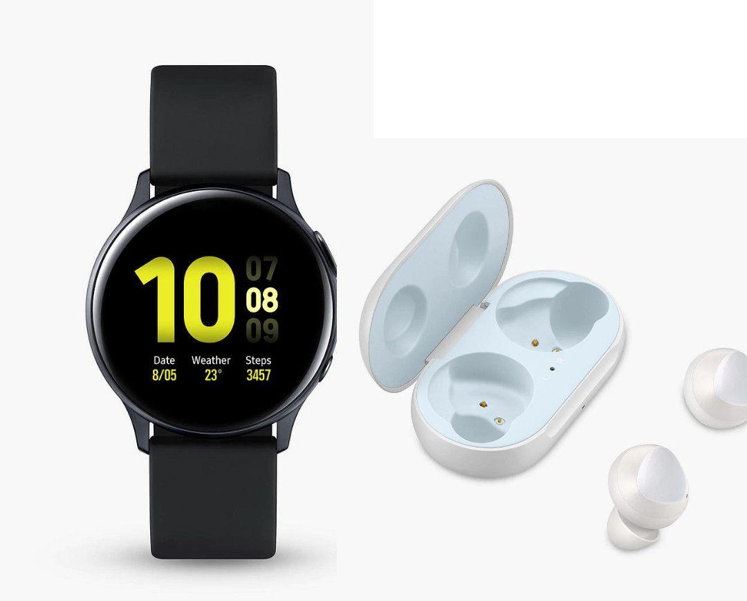 Samsung Active Watch 2 44mm + Samsung Buds £378 + £105 Cashback (£273 After CB) / 40mm £358 (£253 After cashback) @ John Lewis & Partners