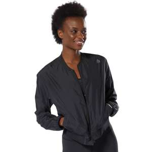 Reebok Women's WOR Woven Jacket in Grey or Black £20.10 delivered @ Reebok