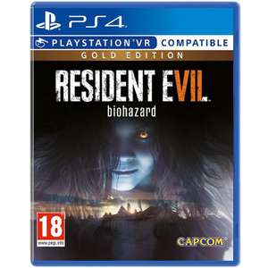 Resident Evil 7 Gold Edition PS4 12.99 @ MyMemory