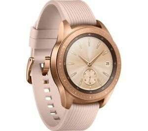 Galaxy Watch 42mm Rose Gold - Open Box (new) - £196.84 using code + possible Samsung cashback @ Currys Clearance / eBay