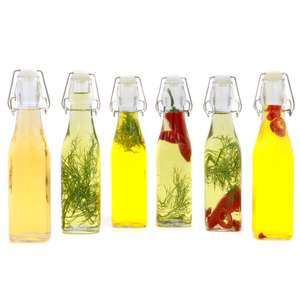 Maison & White Set of 6 500ml Glass Clip Top Preserve Bottles - £8.99 + Free Delivery Using Code @ Roov