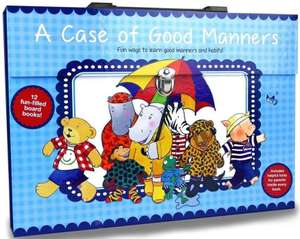 A Case of Good Manners board book collection from Karen Carter and Jenny Feely for £4.98 delivered @ Books2Door