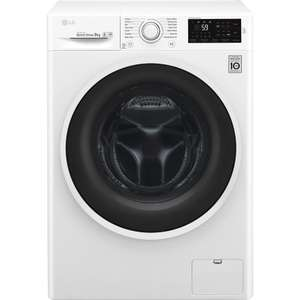 LG F4J609WN NFC 9 kg 1400 Spin Washing Machine + 5 Year Warranty £319 delivered (£339 inc recycling) with code @ Currys