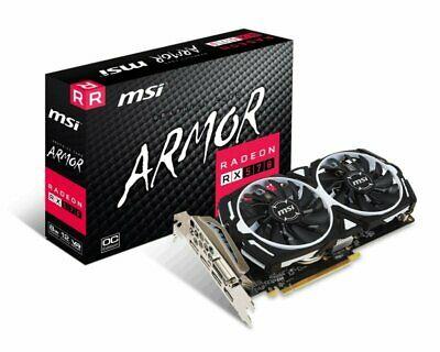 MSI RX 570 ARMOR 8GB Overclocked GDDR5 Graphics Card + 3 Months games pass £118.45 @ ebuyer eBay