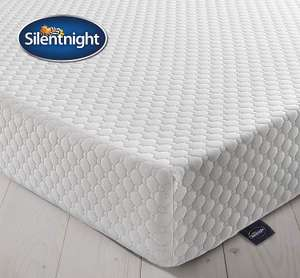 Silentnight 7 Zone Memory Foam Rolled Mattress, Made in the UK, Medium Firm, UK King £162.99 Amazon