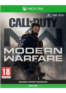 Call of Duty: Modern Warfare on Xbox One for £34.85 @ Simplygames