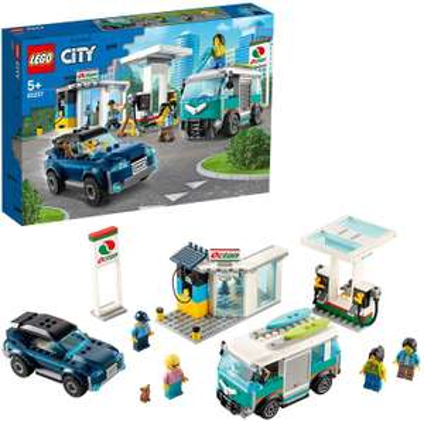 LEGO 60257 City Nitro Wheels Service Station £31.47 delivered at Amazon