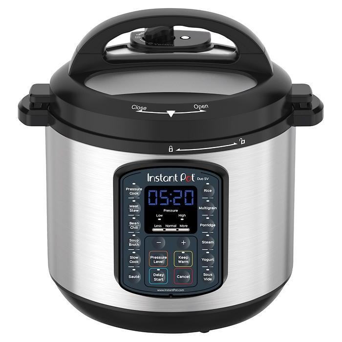 Instant Pot Duo 6 SV 5.7L Multi-Use Pressure Cooker - Costco - £78.99