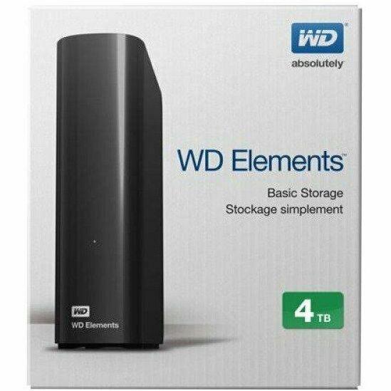 WD Elements 4TB External HDD (2 Year Warranty) £69.62 Delivered @ ebuyer eBay